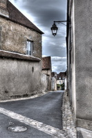Le Berry - Indre - La Chatre -rue Bel air