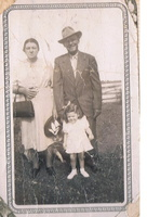 Bessie & Jean Barousse with daughter Lucille