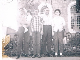 Patrick, Christine, Gerry, Roy and Chlorita Barousse