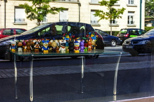 Val de Marne - Val d'Europe - exterieur - vitrine- customisation
