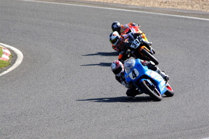 Val d'Oise - Circuit Carole - Course motos - file indienne